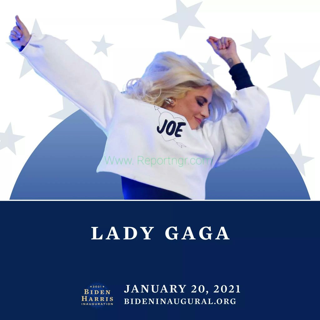 Lady Gaga and Jennifer Lopez are to perform at Joe Biden inauguration on 20th of January 2021