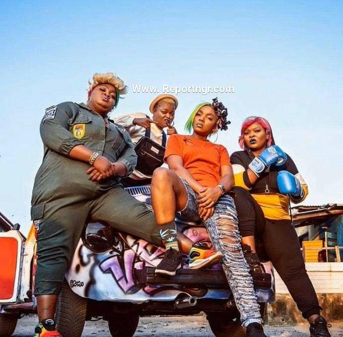 Omoghetto The comedy film featured  Funke Akindele, Tina Mba, Adebayo Salami aka Oga Bello, Chioma Akpotha, Bimbo Thomas,  Eniola Badmus.